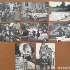 Fotografia antica: CONJUNTO OCHO FOTOS PARQUE GÜELL BARCELONA GAUDI AÑOS 60. Lote 213308057