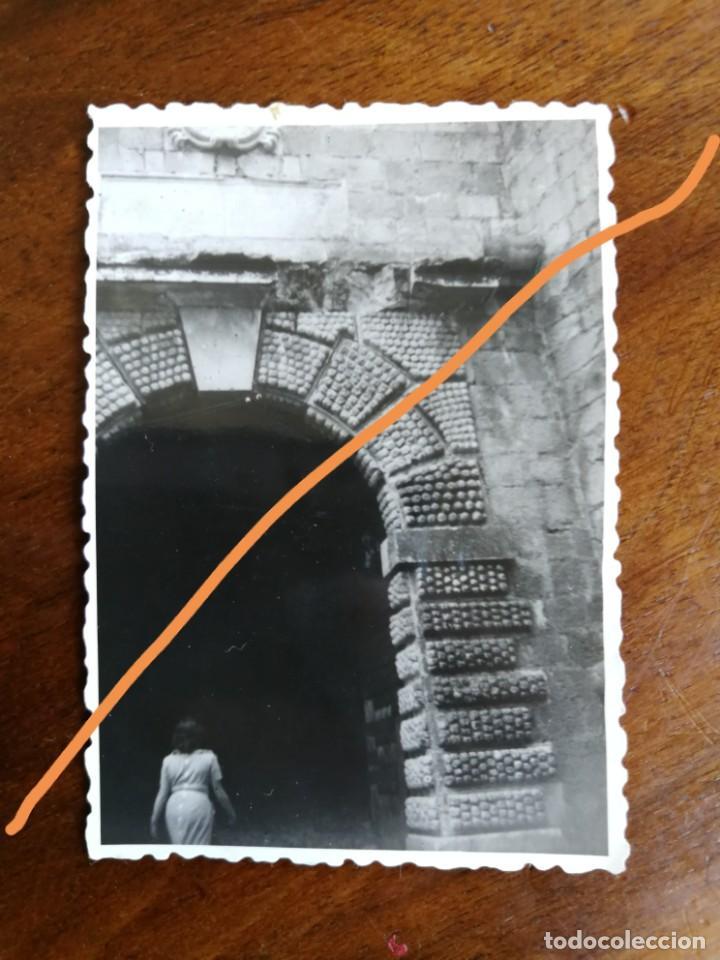 FOTOGRAFÍA ANTIGUA DE PEÑÍSCOLA. CASTELLÓN. FOTO AÑO 1951. (Fotografía Antigua - Fotomecánica)
