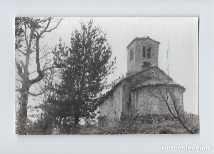 FOTOGRAFIA B/N. BORREDÀ. IGLESIA DE SANT SADURNI DE ROTGERS (Fotografía Antigua - Fotomecánica)