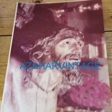 Fotografía antigua: SEMANA SANTA SEVILLA, CRISTO DE LAS MISERICORDIAS, SANTA CRUZ, 20X25 CMS. Lote 213865222