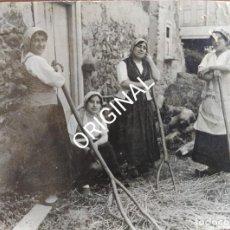Fotografía antigua: FOTO ORIGINAL. VILLAFRANCA DEL BIERZO. LEON. 1914.. Lote 214046011
