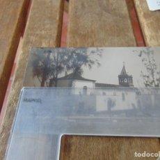 Fotografía antigua: FOTO FOTOGRAFÍA TARJETA POSTAL FOTO HERRERA FUERTEVENTURA IGLESIA DEL ROSARIO PUERTO. Lote 214128902