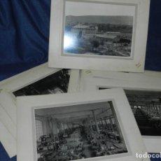 Fotografía antigua: (M) LOTE DE 11 FOTOGRAFIAS - FÁBRICA DE HILO - SALLENT, FOT. LLENAS, 22,5X17CM. Lote 214282073