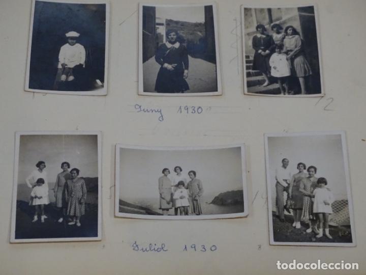 Fotografía antigua: Album 94 fotografías De port-bou del año 1929-1931. - Foto 4 - 214499752