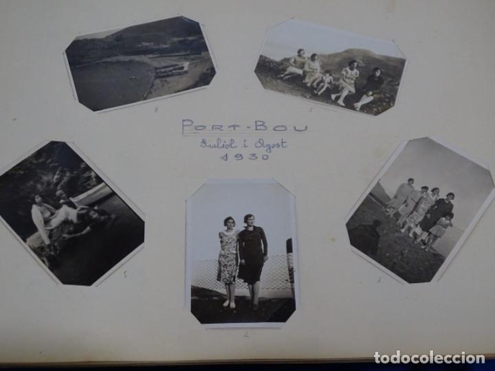 Fotografía antigua: Album 94 fotografías De port-bou del año 1929-1931. - Foto 5 - 214499752