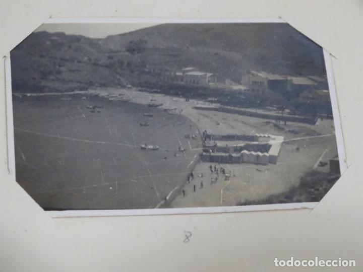 Fotografía antigua: Album 94 fotografías De port-bou del año 1929-1931. - Foto 6 - 214499752