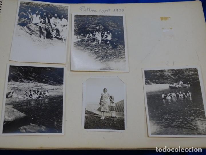 Fotografía antigua: Album 94 fotografías De port-bou del año 1929-1931. - Foto 7 - 214499752