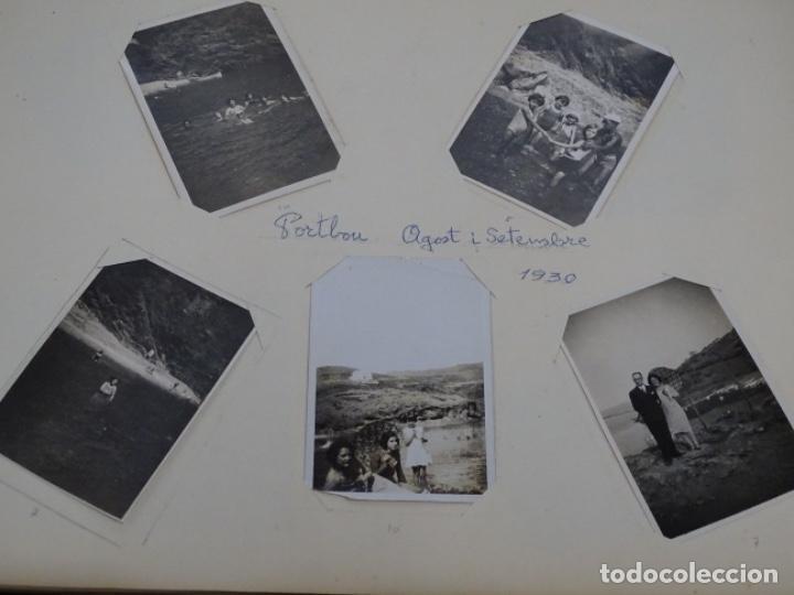 Fotografía antigua: Album 94 fotografías De port-bou del año 1929-1931. - Foto 9 - 214499752