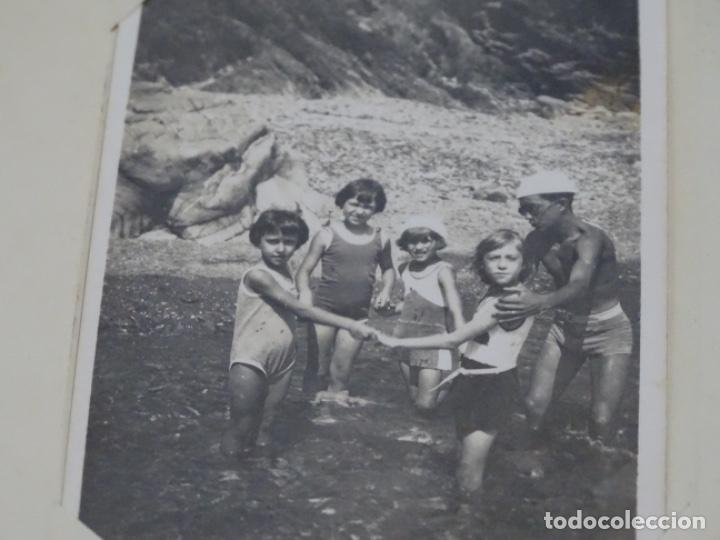 Fotografía antigua: Album 94 fotografías De port-bou del año 1929-1931. - Foto 12 - 214499752