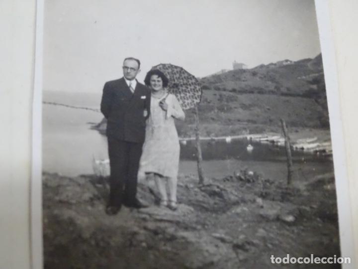 Fotografía antigua: Album 94 fotografías De port-bou del año 1929-1931. - Foto 14 - 214499752