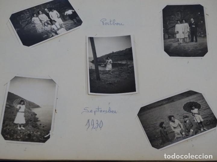 Fotografía antigua: Album 94 fotografías De port-bou del año 1929-1931. - Foto 15 - 214499752