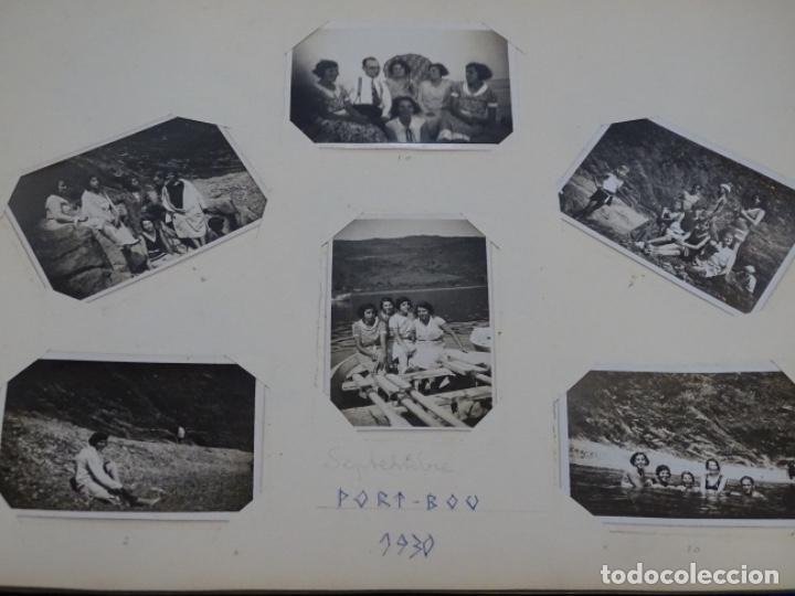 Fotografía antigua: Album 94 fotografías De port-bou del año 1929-1931. - Foto 16 - 214499752