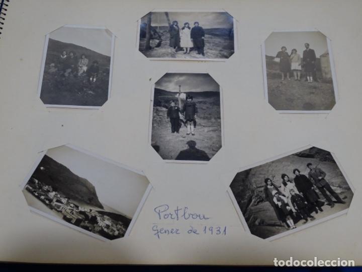 Fotografía antigua: Album 94 fotografías De port-bou del año 1929-1931. - Foto 20 - 214499752