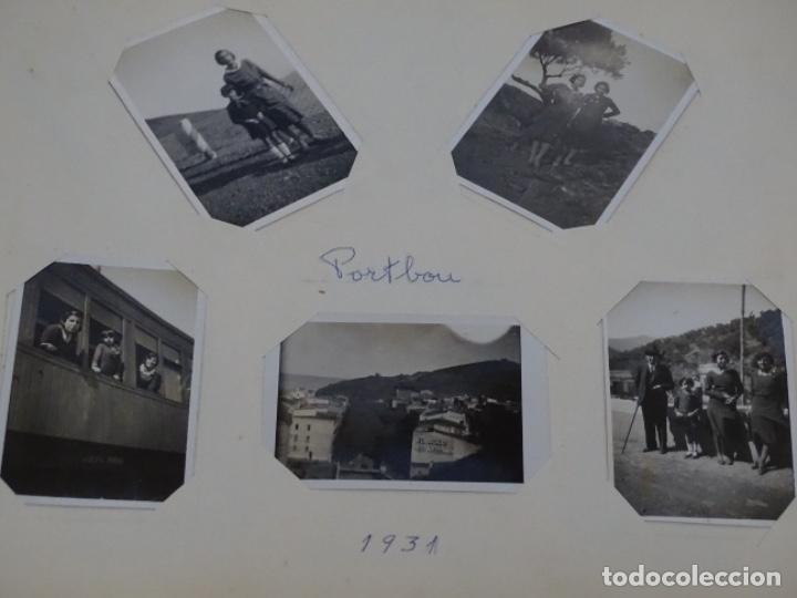 Fotografía antigua: Album 94 fotografías De port-bou del año 1929-1931. - Foto 22 - 214499752