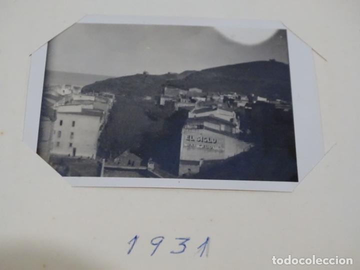 Fotografía antigua: Album 94 fotografías De port-bou del año 1929-1931. - Foto 23 - 214499752