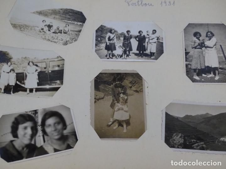 Fotografía antigua: Album 94 fotografías De port-bou del año 1929-1931. - Foto 25 - 214499752