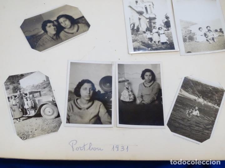 Fotografía antigua: Album 94 fotografías De port-bou del año 1929-1931. - Foto 26 - 214499752