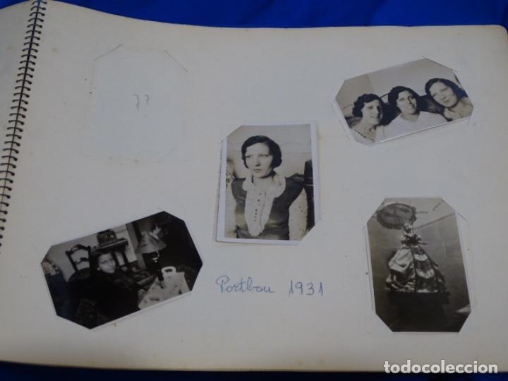 Fotografía antigua: Album 94 fotografías De port-bou del año 1929-1931. - Foto 29 - 214499752