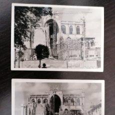 Fotografía antigua: LOTE DE DOS FOTOGRAFÍAS CATEDRAL DE VITORIA AÑO 1966. MUY BUEN ESTADO. MEDIDAS 10,00X7,20 CM.. Lote 214676176
