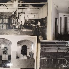 Fotografía antigua: LOTE FOTOGRAFIA INDUSTRIAL AÑOS 50 VIGO 8 FOTOS. Lote 215199237
