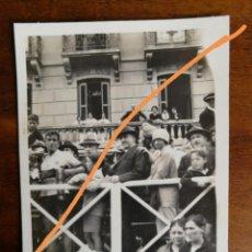 Fotografía antigua: FOTOGRAFÍA ANTIGUA. CICLISTA RICARDO MONTERO CAMPEÓN DE ESPAÑA. SAN SEBASTIÁN.FOTO AÑO 1925.. Lote 216010551