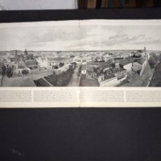 Fotografia antiga: VISTA PANORÁMICA DE JEREZ DE LA FRONTERA. CIRCA 1899. 79X28 CM.. Lote 217472105
