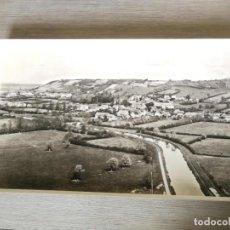 Fotografía antigua: ANTIGUA Y PRECIOSA FOTOGRAFIA AÉREA REGIÓN DE BORGOÑA FRANCIA - LE COTEAU VELOGNY (MORVAN) - 1958. Lote 217715610