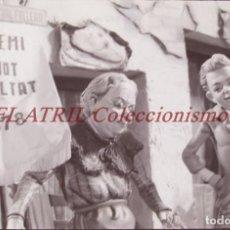 Fotografía antigua: VALENCIA - FALLAS - CLICHE NEGATIVO DE 35 MM EN CELULOIDE - AÑO 1978. Lote 218135355