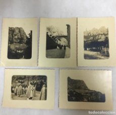 Fotografía antigua: MONTSERRAT AÑOS 30, COLECCIÓN DE FOTOGRAFÍAS ORIGINALES. Lote 218183968