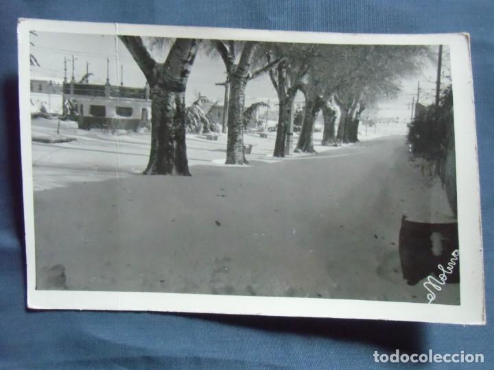 CAUDETE(ALBACETE) FOTO MOLINA. GRAN NEVADA, AÑOS 50. (Fotografía Antigua - Fotomecánica)