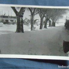 Fotografía antigua: CAUDETE(ALBACETE) FOTO MOLINA. GRAN NEVADA, AÑOS 50.. Lote 218534477