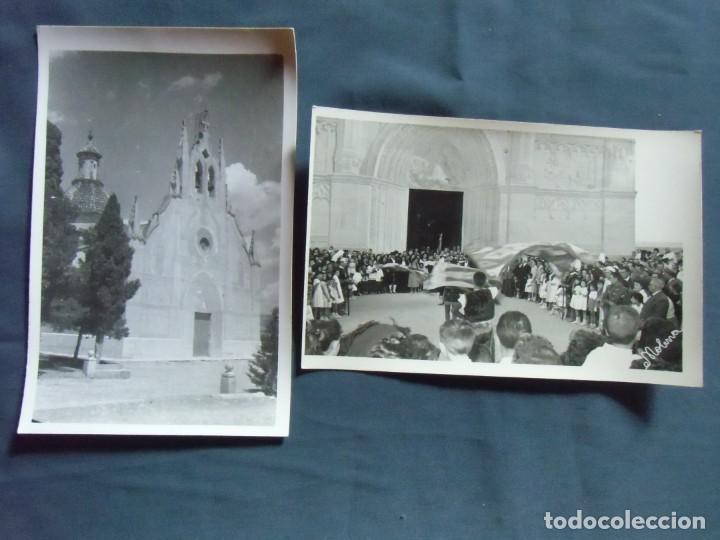 CAUDETE(ALBACETE) FOTO MOLINA. FIESTAS DE MOROS Y CRISTIANOS , AÑOS 50. (Fotografía Antigua - Fotomecánica)