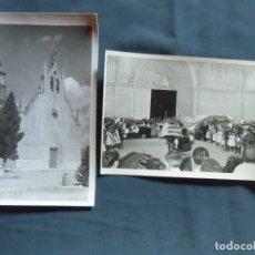 Fotografía antigua: CAUDETE(ALBACETE) FOTO MOLINA. FIESTAS DE MOROS Y CRISTIANOS , AÑOS 50.. Lote 218534571