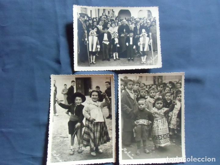 CAUDETE(ALBACETE) FOTO MOLINA. LOS BAILES DEL NIÑO,AÑOS 50. (Fotografía Antigua - Fotomecánica)