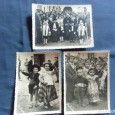 Fotografía antigua: CAUDETE(ALBACETE) FOTO MOLINA. LOS BAILES DEL NIÑO,AÑOS 50.. Lote 218534662