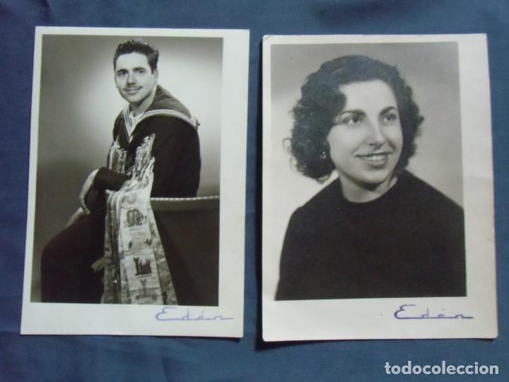 BARCELONA. FOTO-STUDIO EDEN,AÑOS 60. (Fotografía Antigua - Fotomecánica)