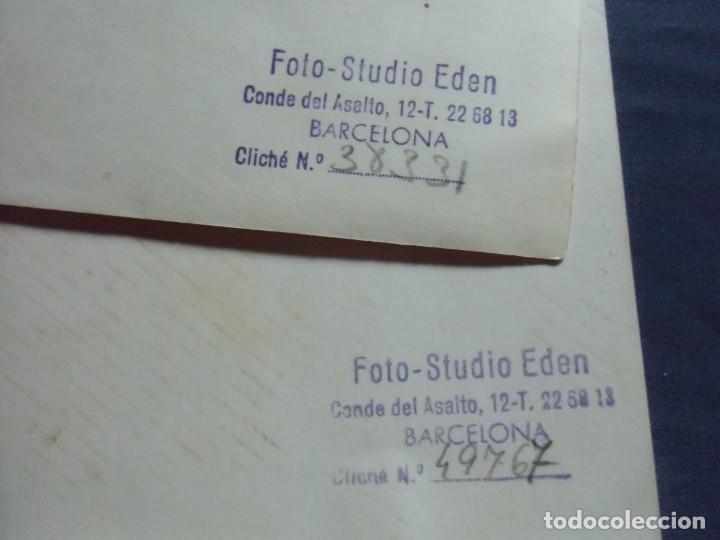 Fotografía antigua: BARCELONA. FOTO-STUDIO EDEN,AÑOS 60. - Foto 2 - 218535062