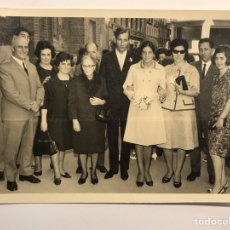 Fotografía antigua: ZARAGOZA, (2) FOTOGRAFÍAS, NOS VAMOS DE BODA.. (A.1967) FOTOGRAFO CORREAS - WAMBA. Lote 218542553