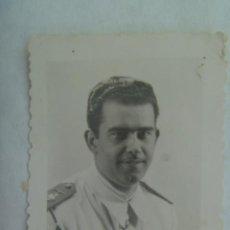 Fotografía antigua: ACADEMIA GENERAL DEL AIRE : FOTO DE CADETE DE AVIACION ... TROQUELADA. Lote 218669162