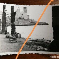 Fotografía antigua: ANTIGUA FOTOGRAFÍA. MUNICIPIO DE SITGES. BARCELONA. FOTO AÑO 1949.. Lote 218815706