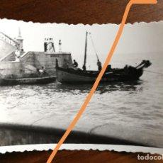 Fotografía antigua: ANTIGUA FOTOGRAFÍA. MUNICIPIO DE SITGES. BARCELONA. FOTO AÑO 1949.. Lote 218815921