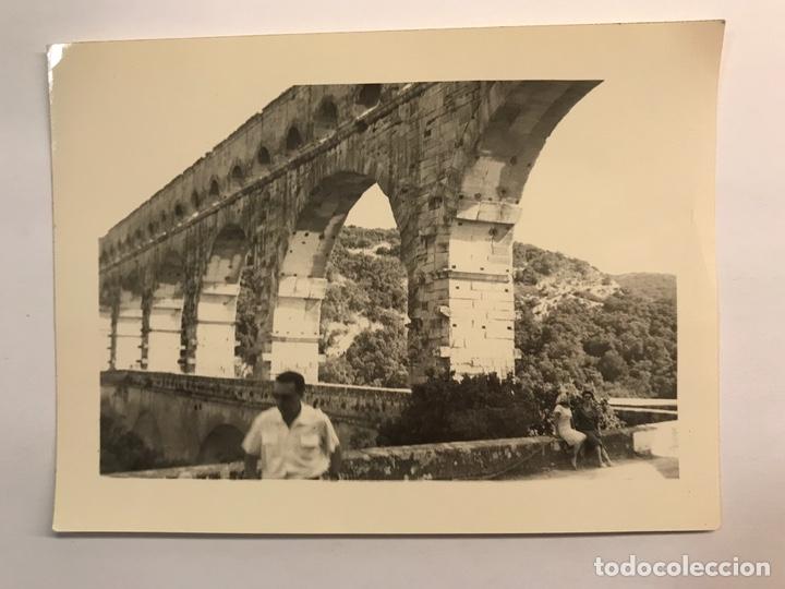 TARRAGONA. FOTOGRAFÍA PONT DEL DIABLE ? LABORATORIO CASA ESCUDER (H.1950?) (Fotografía Antigua - Fotomecánica)