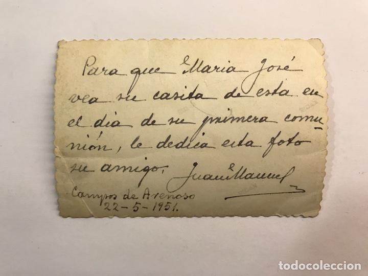 Fotografía antigua: CAMPOS DE ARENOSO, Castellon. Fotografía antigua. Vista panorámica (a.1951) - Foto 2 - 219025993