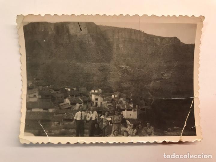 CAMPOS DE ARENOSO, CASTELLON. FOTOGRAFÍA ANTIGUA. VISTA PANORÁMICA (A.1951) (Fotografía Antigua - Fotomecánica)