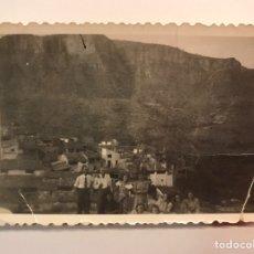 Fotografía antigua: CAMPOS DE ARENOSO, CASTELLON. FOTOGRAFÍA ANTIGUA. VISTA PANORÁMICA (A.1951). Lote 219025993