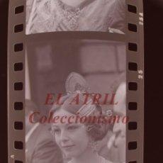 Fotografía antigua: VALENCIA - FALLAS ISABEL TENAILLE - 3 CLICHES NEGATIVOS DE 35 MM EN CELULOIDE - AÑOS 1978-1979. Lote 219154296