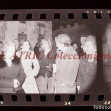Fotografía antigua: VALENCIA - FALLAS ISABEL TENAILLE- 5 CLICHES NEGATIVOS DE 35 MM EN CELULOIDE - AÑOS 1978-1979. Lote 219154695