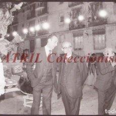 Fotografía antigua: VALENCIA - FALLAS - CLICHE NEGATIVO DE 35 MM EN CELULOIDE - AÑOS 1978-1979. Lote 219154947