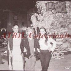 Fotografía antigua: VALENCIA - FALLAS ISABEL TENAILLE - CLICHE NEGATIVO DE 35 MM EN CELULOIDE - AÑOS 1978-1979. Lote 219155156