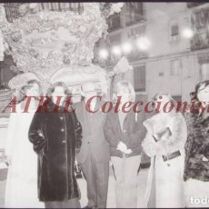 Fotografía antigua: VALENCIA - FALLAS ISABEL TENAILLE - CLICHE NEGATIVO DE 35 MM EN CELULOIDE - AÑOS 1978-1979. Lote 219155482